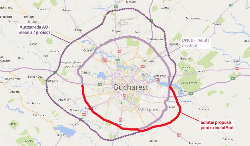 Centura Bucureștiului Soluția Usr Uniunea Salvați Romania